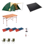 3名用キャンプ 基本レンタルセット
